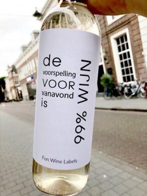 99% wijn