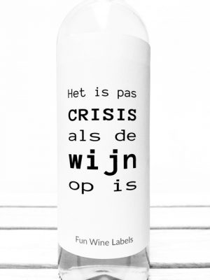 Crisis Wijn